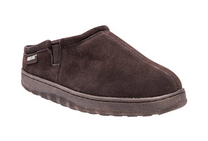 Matt Printed Berber Suede Clogs - Men's