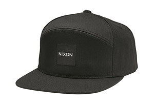 Nixon Snapper Print Snapback Hat - Men's