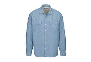 Utility Shirt with Roll up Sleeves - Men's