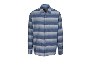 L/S Chambray Horizontal Stripe with Faded Wash - Men's