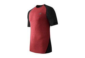New Balance Trinamic Short Sleeve Top - Men's