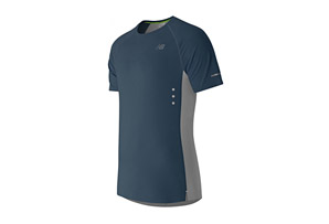 New Balance Precision Run Short Sleeve - Men's