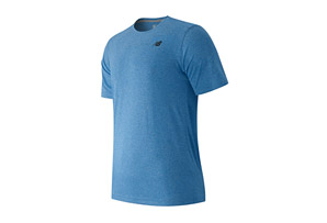 New Balance Short Sleeve Heather Tech Tee - Men's