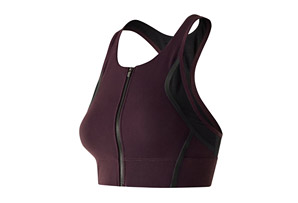 New Balance Crop Bra Top - Women's