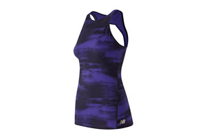 New Balance Printed Open Back Tank - Men's
