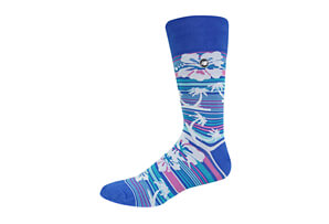 New Balance Flower Power Crew Socks - Women's
