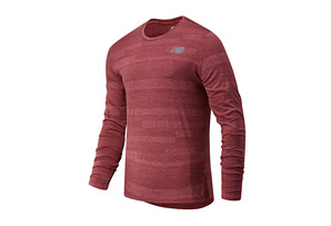 Q Speed Fuel Jacquard Long Sleeve - Men's