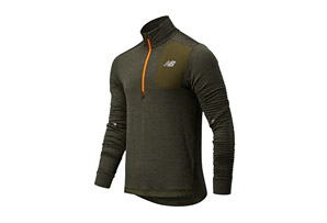 Run Grid Back Half Zip - Men's