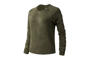 Q Speed Fuel Jacquard Long Sleeve - Women's