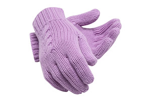 Lux Knit Gloves - Women's
