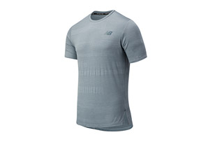 Q Speed Fuel Jacquard Short Sleeve - Men's