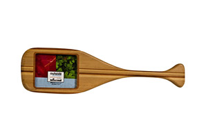 Outside Inside Paddle Picture Frame Ornament