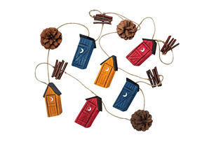 Outhouse Garland