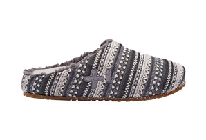 OTZ House Shearling Textile Slip-On's - Womens