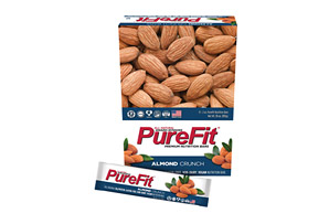 PureFit Almond Crunch Bars - Box of 15