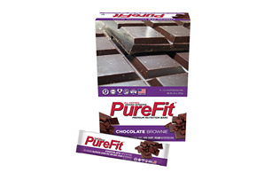 PureFit Chocolate Brownie Bars - Box of 15