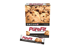 PureFit Peanut Butter Chocolate Chip Bars - Box of 15
