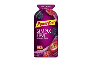 PowerBar Simple Fruit Apple Mixed Berry Gel - Box of 12