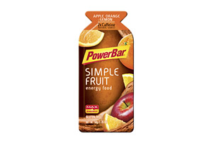 PowerBar Simple Fruit Apple Orange Lemon Gel - Box of 12