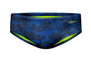 Roka Elite Print Racer Swimsuit - Men's