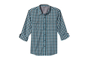 Vista Dry Plaid Long Sleeve - Men's