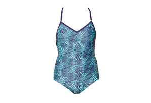 Roxy Dive In One Piece Swimsuit - Womens