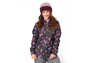 Roxy Masquerade Shirt Jacket - Womens