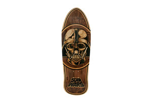Santa Cruz Star Wars Vader Inlay Collectible Skate Deck