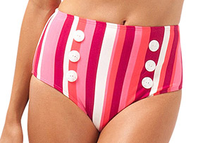 Chicama High Waist Bikini Bottom - Women's