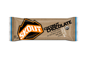 Skout Backcountry Chocolate Coconut Trailbar - Box of 12