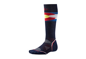 Smartwool PhD Ski Light Colorado Flag Socks