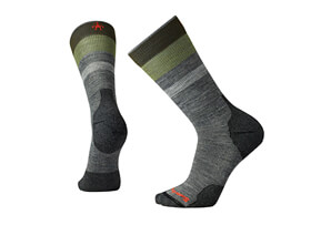 Smartwool PhD Outdoor Lt Pattern Crew Socks