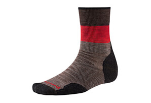 Smartwool PhD Outdoor Lt Pattern Mid Crew Socks