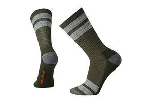 Smartwool Stripe Hike Light Crew Socks