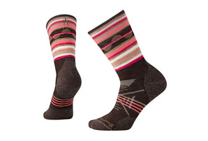 Smartwool PhD Outoor Medium Pattern Crew Socks - Women's