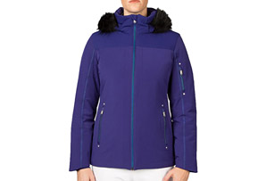Spyder Diamonté Faux Fur Jacket - Women's