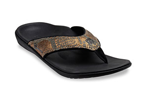 Spenco Yumi Python Sandals - Women's