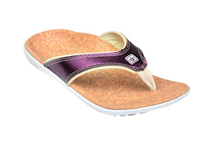 Spenco Yumi Metallic Sandals - Women's
