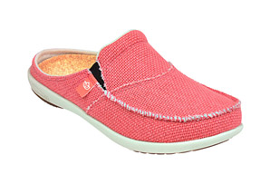 Spenco Siesta Canvas Slides - Women's