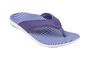 Spenco Canvas Stripe Sandals - Women's