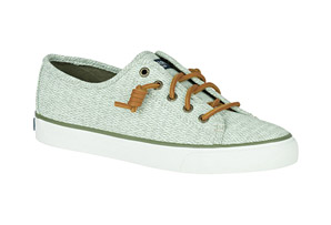 Sperry Seascoast Diamond Print Shoes - Women's