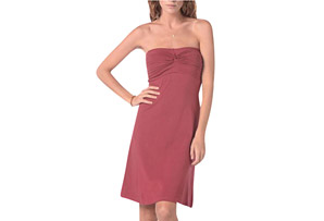 Synergy Strapless Twist Dress - Women's