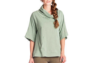 Synergy Poncho 3/4 Sleeve - Women's