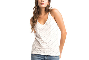 Chevron Stitch Sophia Top - Women's