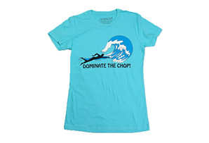 T3 Tees Dominate the Chop! Tee - Women's