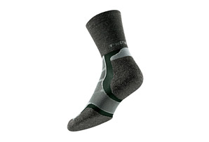 Thorlos Experia Merino Wool Thin Padded Running Crew Socks