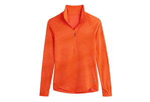 Under Armour Printed Qualifier 1/2 Zip - Womens