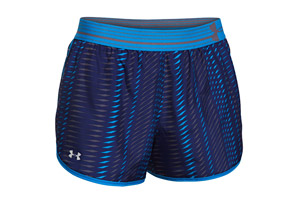 Under Armour Printed Perfect Pace Shorts - Women's