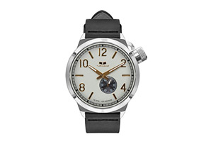 Vestal Canteen Italian Leather Watch