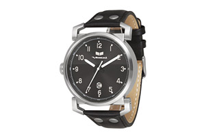 Vestal Observer Leather Watch